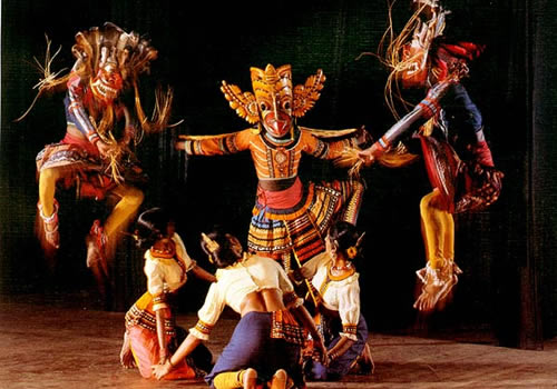 The Ingenious Mask and Puppet Shows in Ambalangoda