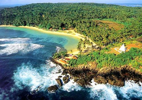 Best Beaches Of The World Unawatuna Bay Beach Sri Lanka
